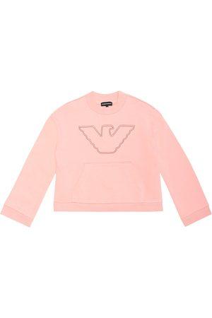 Emporio Armani Besticktes Sweatshirt