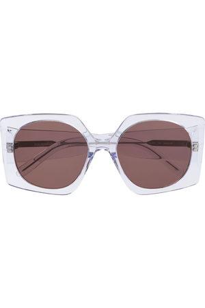 Courrèges Eyewear Sonnenbrillen - Sonnenbrille im Oversized-Design - Nude