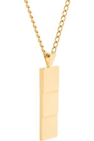 Northskull Vergoldete 'Layers' Halskette mit Anhänger - Metallisch