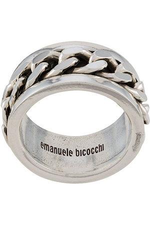 Emanuele Bicocchi Klassischer Bandring - Metallisch