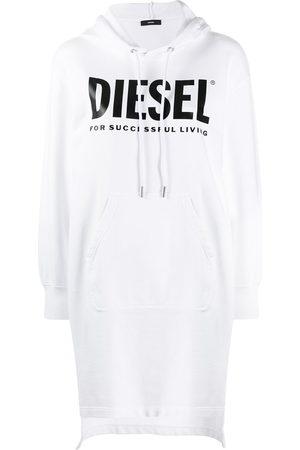Diesel Sweatshirtkleid mit Kordelzug
