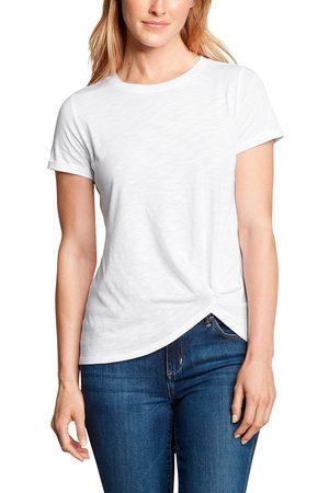 Eddie Bauer Damen T-Shirts - GATECHECK TWIST FRONT SHIRT - KURZARM Gr. XS