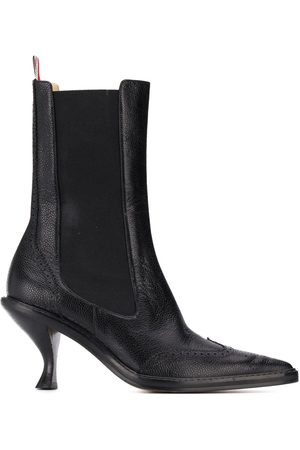 Thom Browne Chelsea-Boots mit Budapesterdetails