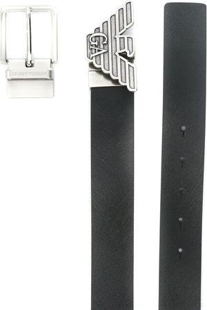 Emporio Armani Gürtel mit Logo-Schnalle