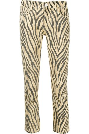 Current/Elliott Cropped-Hose mit Zebra-Print