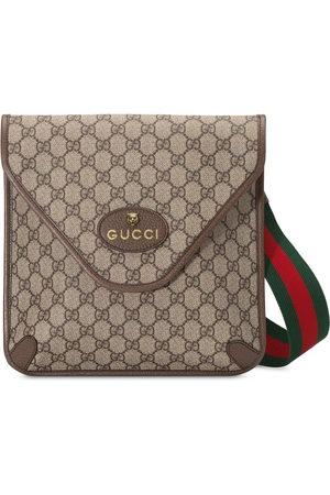 """Gucci Neo' Kuriertasche mit """"Vintage GG""""-Muster - Nude"""