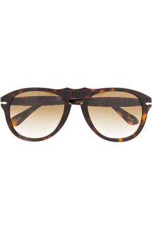 Persol Runde Sonnenbrille in Schildpattoptik