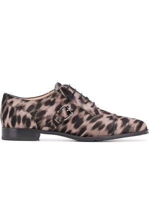 Tod's Oxford-Schuhe mit Leoparden-Print - Nude