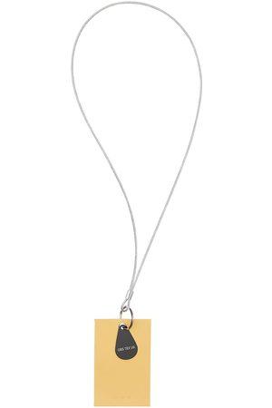 OBS Herren Schlüsselanhänger - Logo Leather Keychain