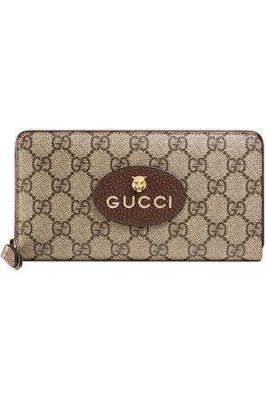 Gucci Neo Vintage GG Supreme' Portemonnaie - Nude