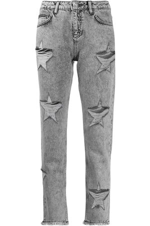 Philipp Plein Boyfriend Stars' Jeans im Distressed-Look