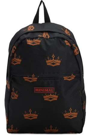 MINIMAL Herren Rucksäcke - All Over Print Backpack W/ Patches