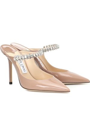Jimmy choo Mules Bing 100 aus Lackleder