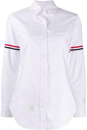 Thom Browne Klassisches Hemd mit Streifen