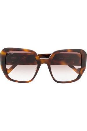 LIU JO Oversized-Sonnenbrille in Schildpattoptik