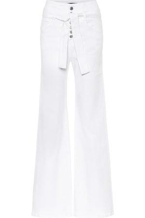 VERONICA BEARD High-Rise Jeans Rosanna Corset