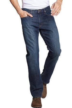 Eddie Bauer Herren Straight - Flex Jeans - Straight Fit Gr. 30 Länge 32