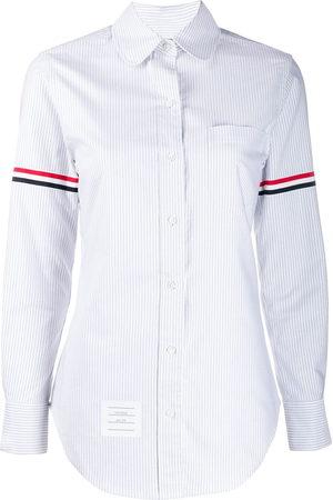 Thom Browne Gestreiftes Oxford-Hemd