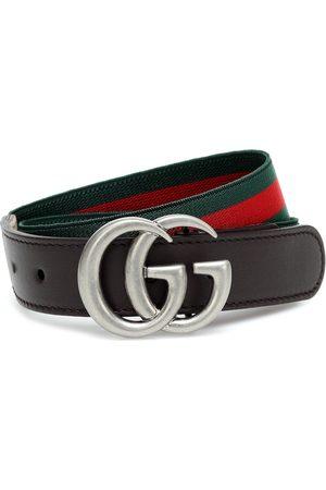 Gucci Gürtel mit Leder