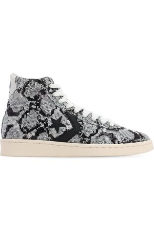 Converse Pro Leather Snake Sequin Sneake