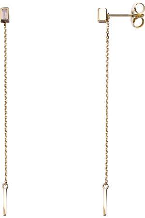 Stardiamant Ohrstecker - Brillant 585 Gelbgold - D2129G