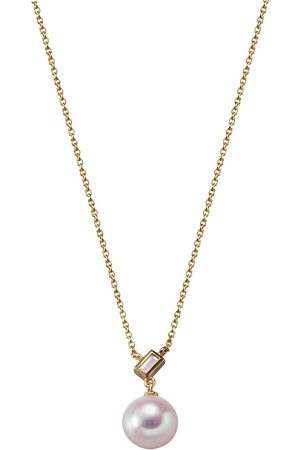 Stardiamant Collier - Diamant Gelbgold 585 - D3111G