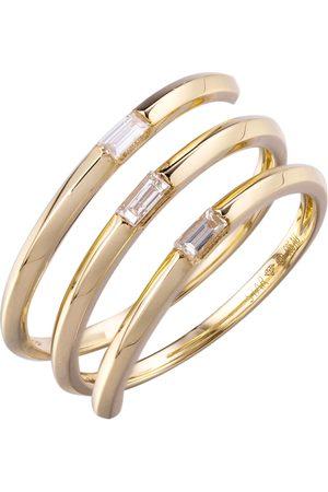 Stardiamant Ring - Diamant Gelbgold 585 - D6491G