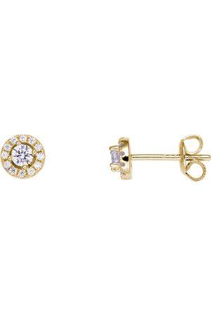 Stardiamant Ohrringe - Ohrstecker - Brillant Gelbgold 585 - D2134G