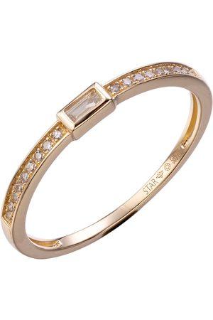 Stardiamant Ring - Brillant Gelbgold 585 - D6493G