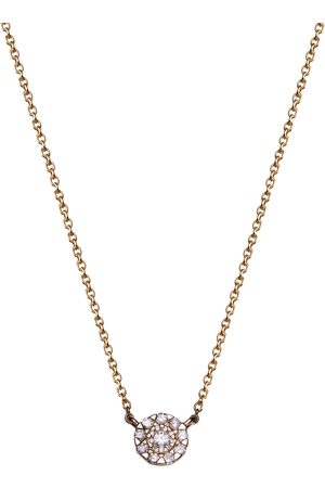 Stardiamant Collier - Brillant Gelbgold 585 - D3222G
