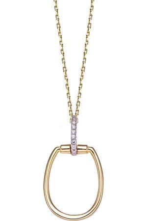 Stardiamant Collier - Brillant Gelbgold 585 - D3231G
