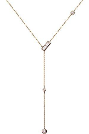 Stardiamant Collier - Brillant Gelbgold 585 - D3110G