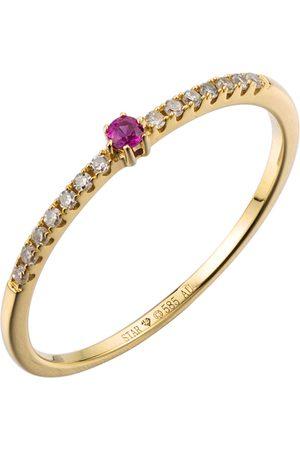 Stardiamant Ring - Brillant Gelbgold 585 - D6485G