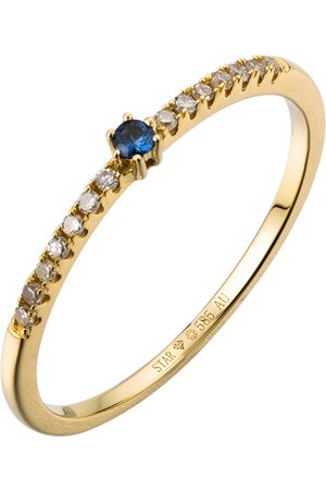 Stardiamant Ring - Brillant Gelbgold 585 - D6484G