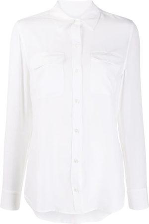 Equipment Damen Blusen - Signature Hemd mit Taschen