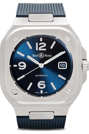 Bell & Ross BR 05' Armbanduhr, 40mm - BLUE AND SILVER GREY