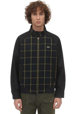 Lacoste Rayon Blend Track Jacket