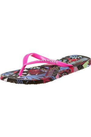 Superdry Damen Flip Flops - Super Sleek Zehentrenner Damen in