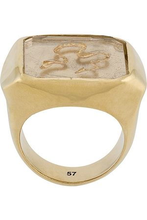 Goossens X Harumi Klossowska de Rola snake signet ring