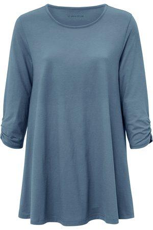 Green Cotton Damen Longsleeves - Longshirt