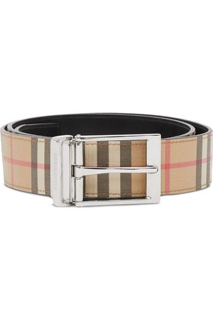 Burberry Reversible vintage check belt