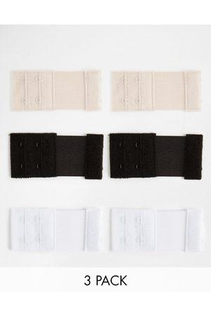 Fashion Forms – BH-Verlängerungen mit 2 Haken-Mehrfarbig