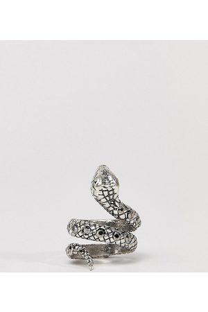 Reclaimed Vintage Ring mit Schlangendesign und Schmucksteinen in , Exklusiv bei ASOS