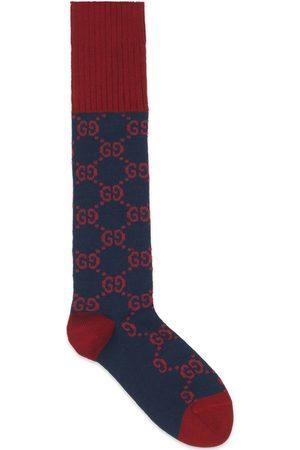 Gucci Socken aus Baumwollmischung mit GG Muster
