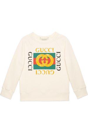 Gucci Kinder Pullover mit Logo