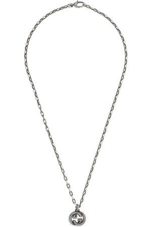 Gucci Halskette aus Silber mit GG
