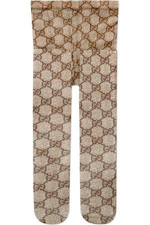 Gucci Strumpfhose mit GG Muster