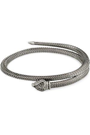 Gucci Garden Armband aus Silber mit Schlange