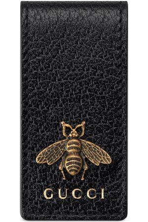 Gucci Animalier Geldscheinklammer aus Leder