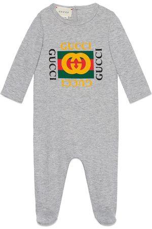 Gucci Baby Schlafanzug mit Logo